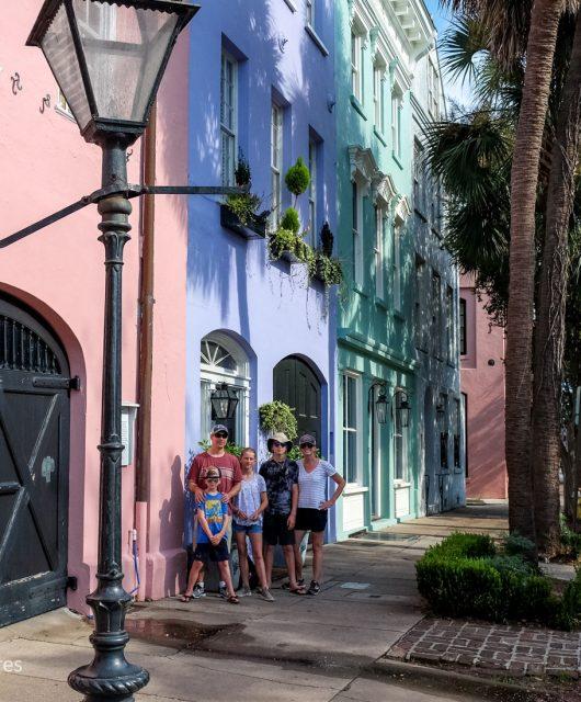 Rainbow Row! Charleston, South Carolina