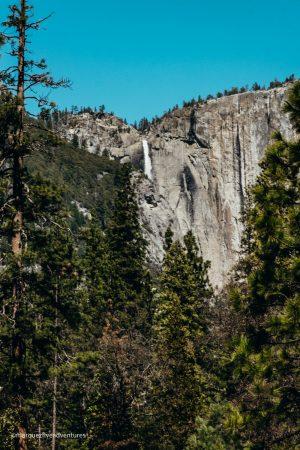 Yosemite Falls from the Loop Trail. California
