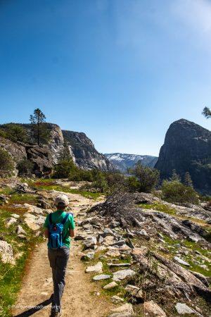 No bad views on the hike to Wapama Falls! Yosemite National Park. Hetch Hetchy.