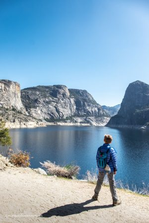On the other side of the tunnel! Hetch Hetchy Reservoir. Yosemite National Park