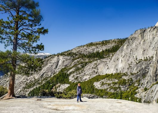 View from the top! Yosemite National Park. California. The Mist Trail
